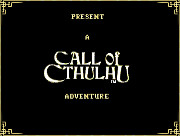 CALL OF CTHULHU SHADOW OF THE COMET screen