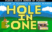 HOLE IN ONE MINIATURE GOLF screen