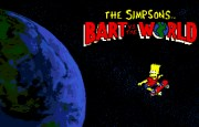 THE SIMPSONS BART VS THE WORLD screen