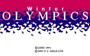 WINTER OLYMPICS LILLEHAMMER 94 screen