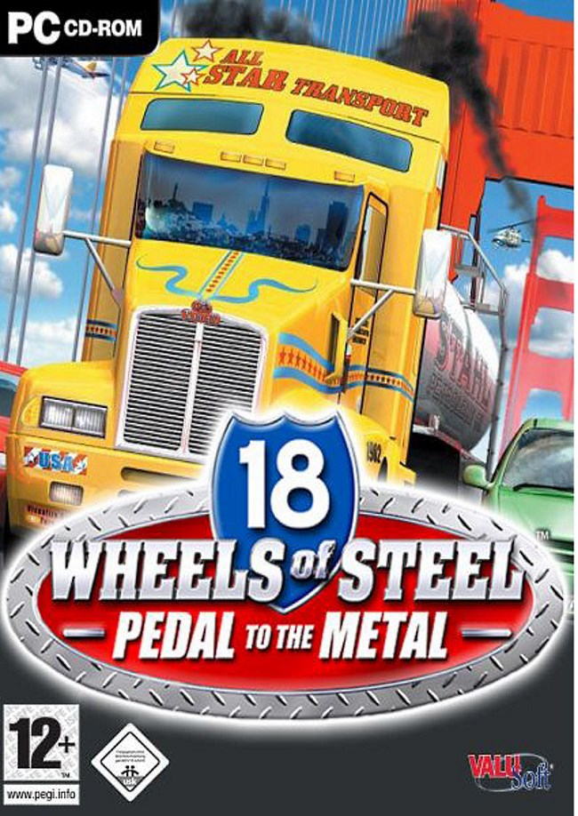 18 wheels of steel pedal to the metal