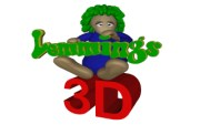 3D LEMMINGS title