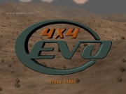 4X4 EVOLUTION title screen