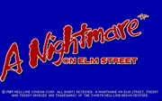 A NIGHTMARE ON ELM STREET title
