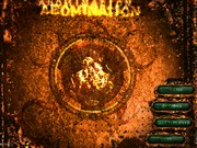 ABOMINATION title screen