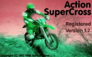 ACTION SUPERCROSS title screen