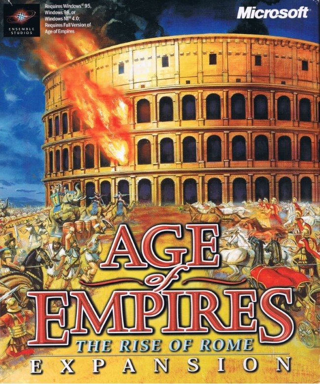 age of empires rise of rome