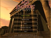 AGE OF EMPIRES RISE OF ROME title screen