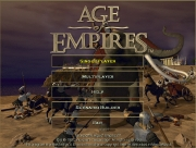 AGE OF EMPIRES title screen