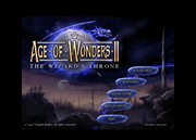 AGE OF WONDERS II title screen