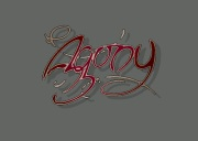 AGONY title screen