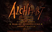 ALCHEMIST title screen
