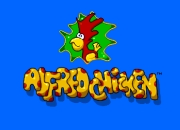 ALFRED CHICKEN title screen