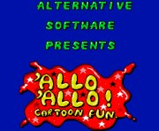 Allo Allo Cartoon Fun title