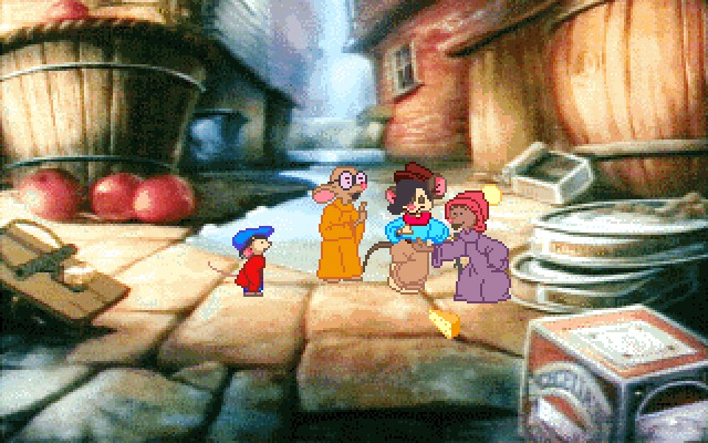 AN AMERICAN TAIL: THE COMPUTER ADVENTURES OF FIEVEL AND HIS FRIENDS