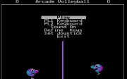 ARCADE VOLLEYBALL title screen