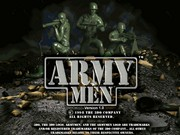 ARMY MEN title screen