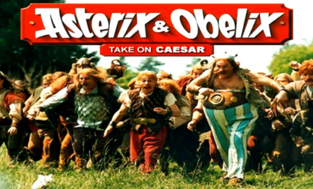 ASTERIX AND OBELIX TAKE ON CAESAR