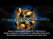 ASTEROIDS title