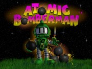 ATOMIC BOMBERMAN title screen