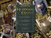 BALDURS GATE title screen