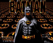 BATMAN THE MOVIE title screen