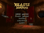 BEASTS AND BUMPKINS title screen