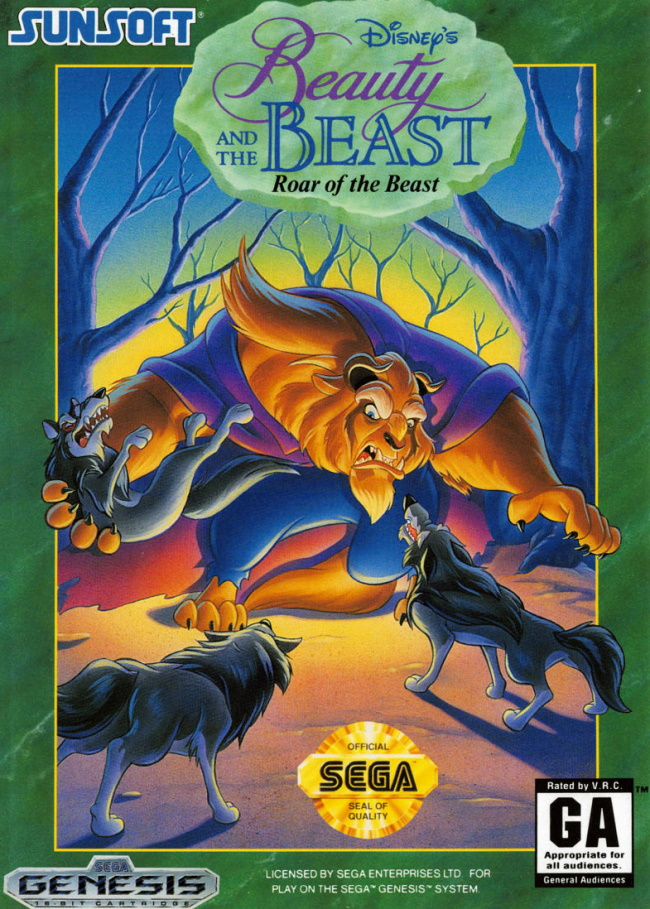 beauty and the beast roar of the beast