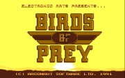 BIRDS OF PREY title screen