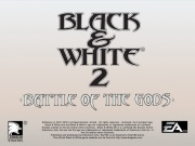 BLACK AND WHITE 2 BATTLE OF THE GODS title screen