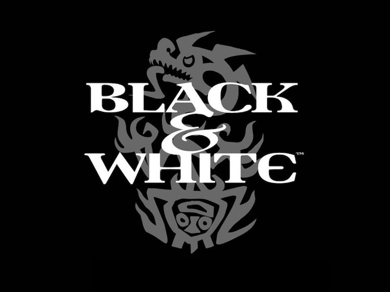 BLACK AND WHITE game title