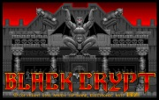 BLACK CRYPT title screen