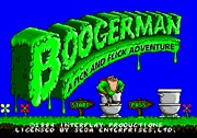 BOOGERMAN A PICK AND FLICK ADVENTURE title screen