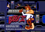 Bubsy 2 title