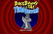 BUGS BUNNY AND TAZ TIME BUSTERS title screen