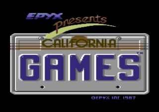 California Games title