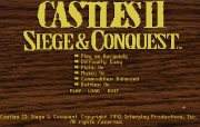 CASTLES II SIEGE CONQUEST title screen