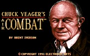 CHUCK YEAGER S AIR COMBAT title