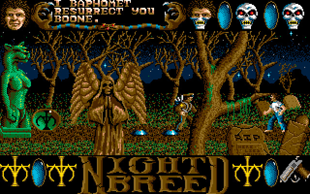 CLIVE BARKER`S NIGHTBREED - THE ACTION GAME