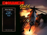COMANCHE GOLD title screen