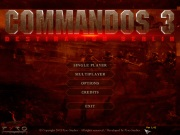 COMMANDOS 3 DESTINATION BERLIN title screen