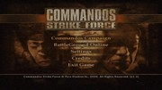 COMMANDOS STRIKE FORCE title screen