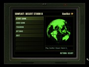 CONFLICT: DESERT STORM II - BACK TO BAGHDAD game title