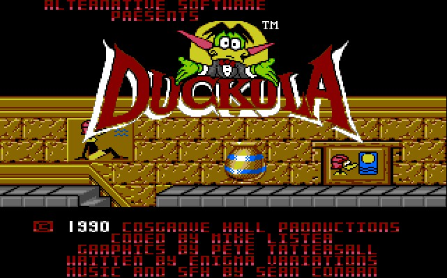 COUNT DUCKULA IN NO SAX PLEASE - WE'RE EGYPTIAN