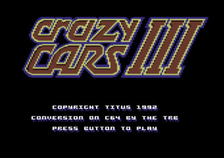 CRAZY CARS III game title