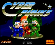 CYBERPUNKS title screen