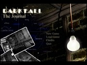 DARK FALL: THE JOURNAL title
