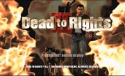 Dead to Rights II title