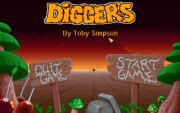 DIGGERS title screen