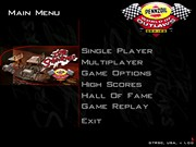 DIRT TRACK RACING SPRINT CARS title screen